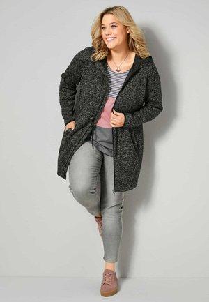 Winter jacket - schwarz,weiß