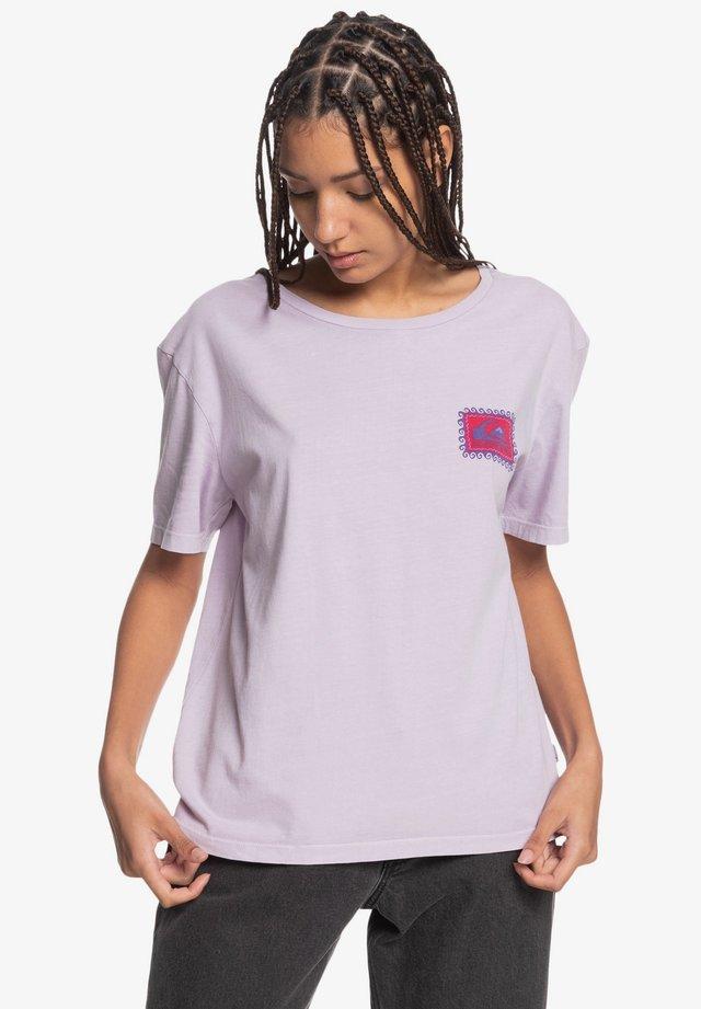 NACHHALTIGES - Print T-shirt - pastel lilac