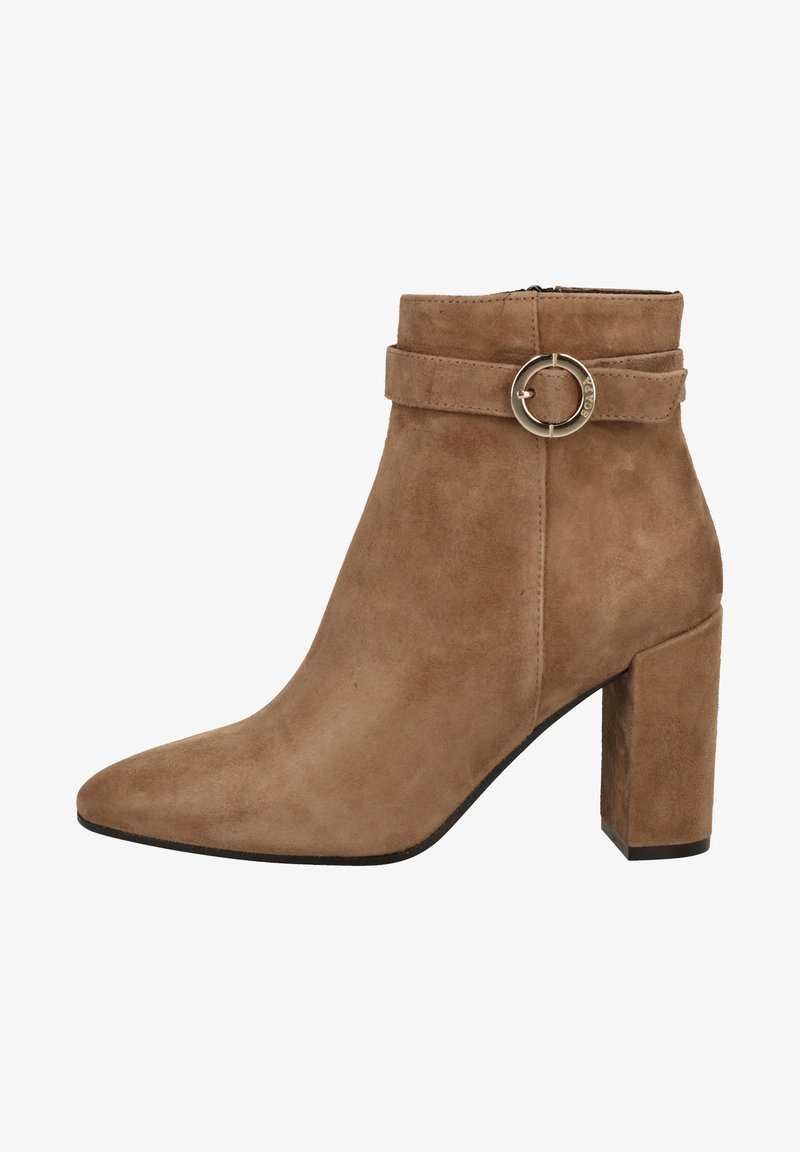 Scapa - High heeled ankle boots - taupe