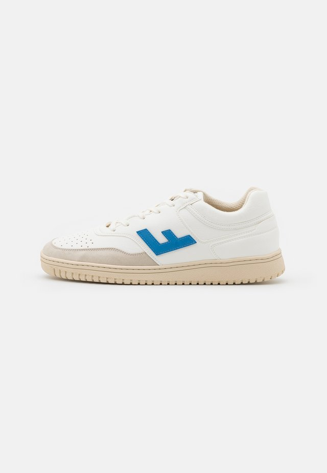 RETRO 90'S UNISEX - Sneakers laag - white/blue