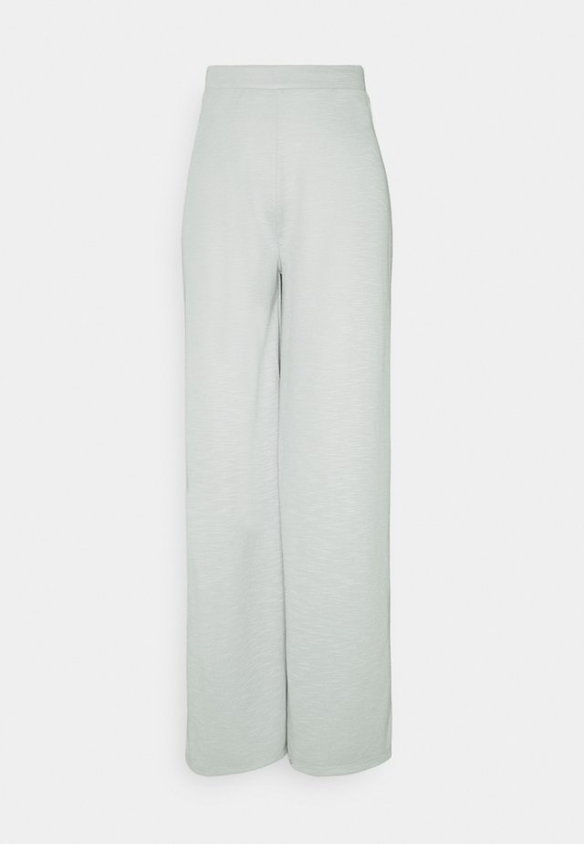 ONLLAYLA WIDE PANTS  - Kalhoty - light grey melange