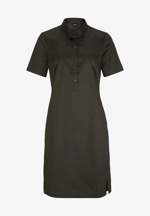 Vestido camisero - dark khaki