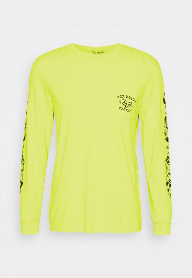 LA NETA POCKET TEE  - Topper langermet - yellow