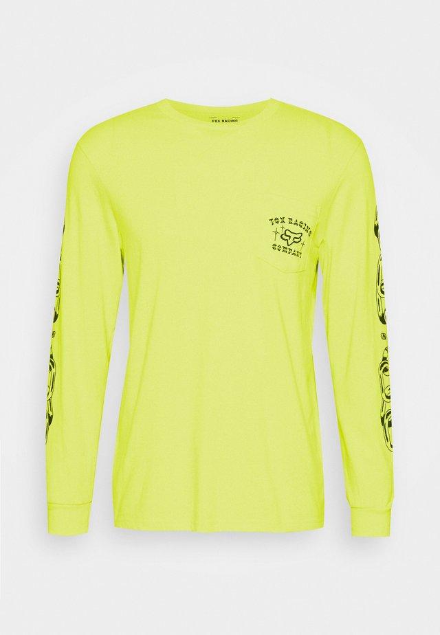 LA NETA POCKET TEE  - Maglietta a manica lunga - yellow