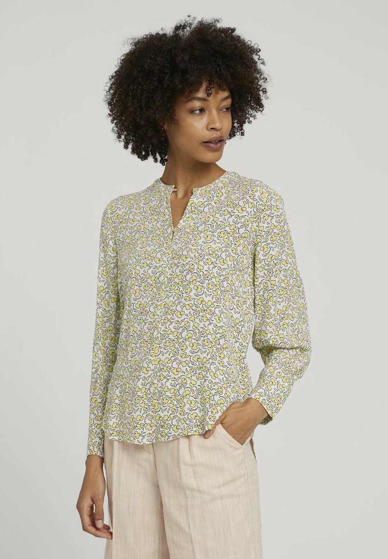 mine to five TOM TAILOR - BLOUSE FEMININE PRINTED - Blouse - mellow yellow