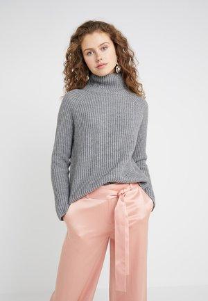 ARWEN - Strickpullover - grey melange