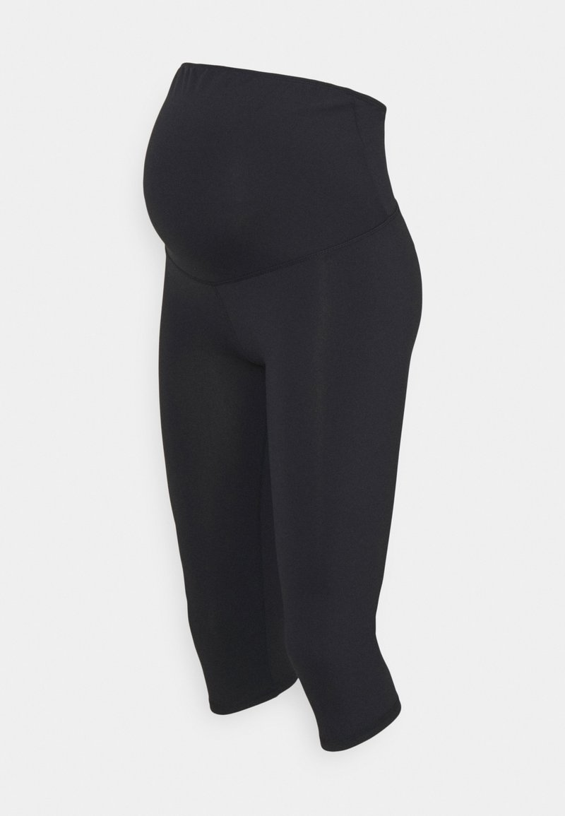 Cotton On Body - CORE CAPRI OVER BELLY TIGHT - Pantalón 3/4 de deporte - core navy