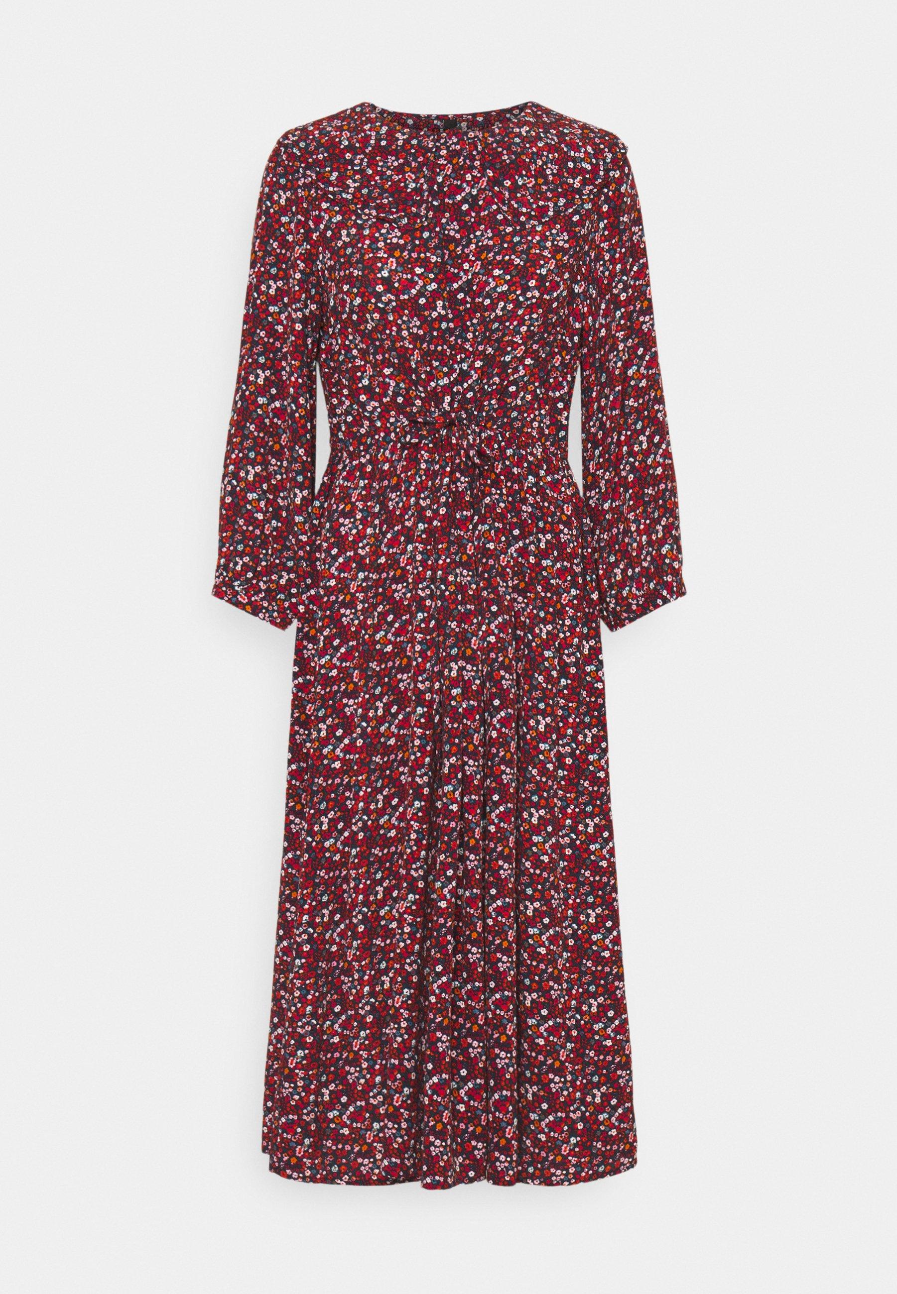 Women YASVICKY 3/4 MIDI DRESS - Day dress