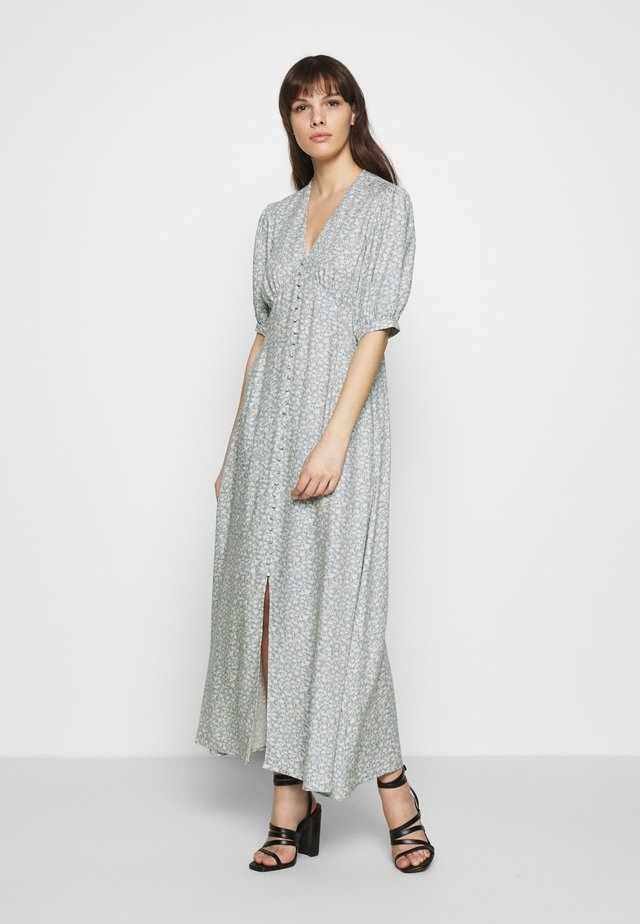 SLFTIRZA ANKLE DRESS - Robe longue - faded denim