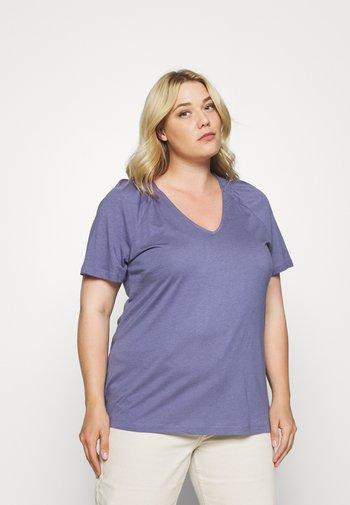 T-shirts med print - purple