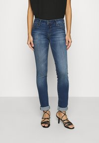 Mavi - LINDY - Slim fit jeans - dark brushed glam - 0