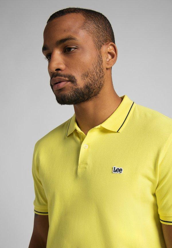 Lee Koszulka polo - lemon/żÓłty Odzież Męska UWQT