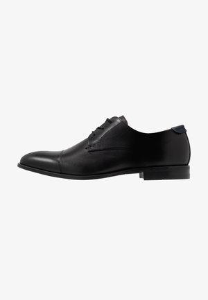VARENI - Elegantní šněrovací boty - black