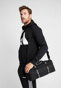 adidas Performance - 4ATHLTS ESSENTIALS 3STRIPES SPORT DUFFEL BAG - Urheilukassi - black/white - 1