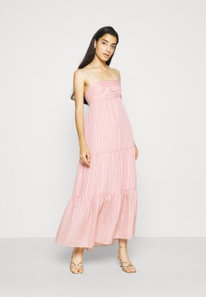 FAITH TIERED MIDI DRESS - Maxi dress - blush