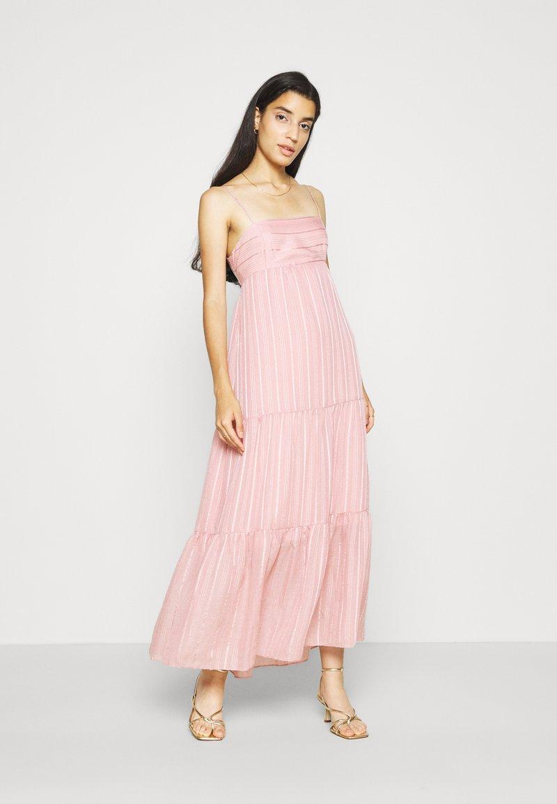 Forever New - FAITH TIERED MIDI DRESS - Maxi dress - blush