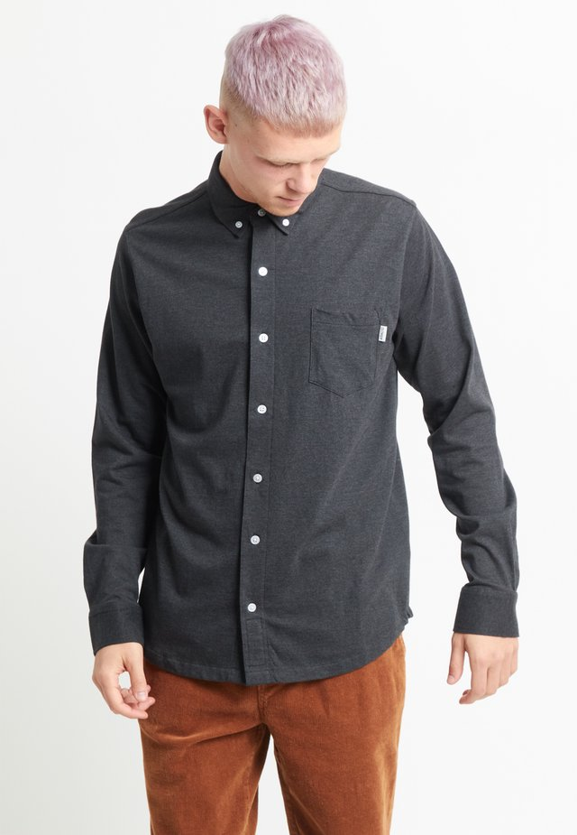 Shirt - black melange