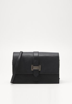 RIGA XL - Taška spříčným popruhem - black