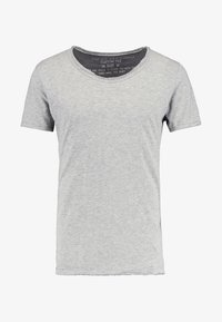 Key Largo - T BREAD NEW - Basic T-shirt - silber - 4