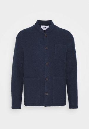 OSWALD HYBRID - Summer jacket - navy