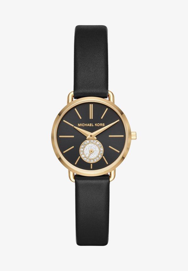 PORTIA - Uhr - black