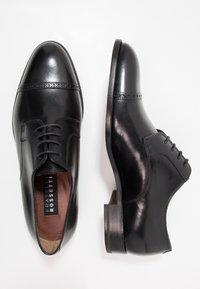 Fratelli Rossetti - Smart lace-ups - black - 1