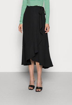 SKIRT URSA - A-line skirt - black