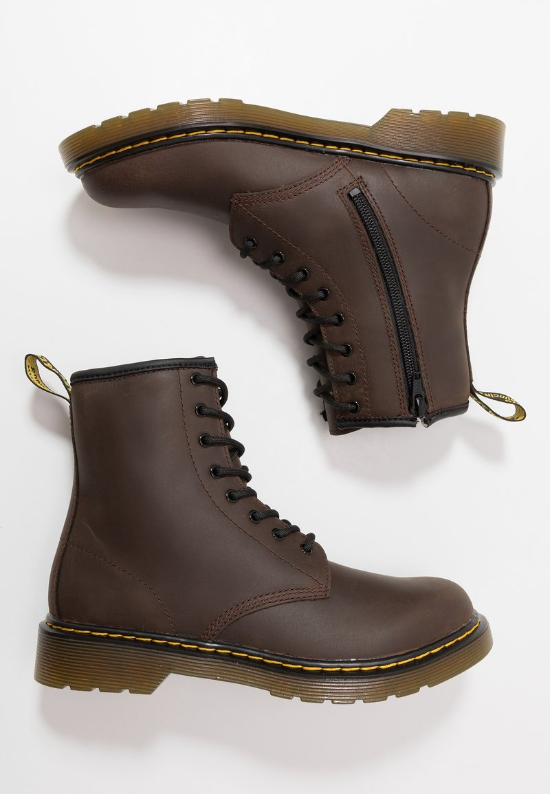Dr. Martens - 1460 Serena Y Republic Wp - Lace-up ankle boots - dark brown