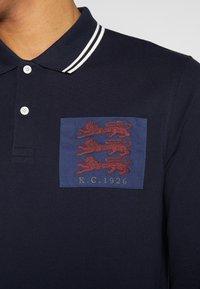 Kent & Curwen - BAILEY LIONS - Polo shirt - deep blue - 5