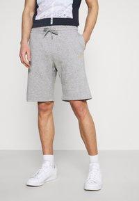 Pier One - 2 PACK - Shorts - mottled light grey - 0