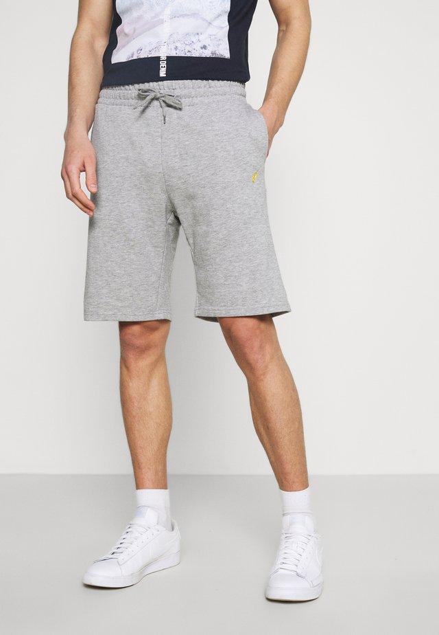 2 PACK - Shorts - mottled light grey