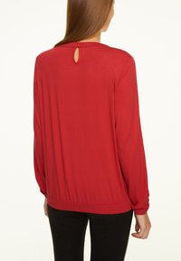 comma casual identity - Long sleeved top - scarlet red - 2