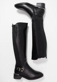 Dorothy Perkins - KIKKA FORMAL RIDING BOOT STRETCH BACK - Boots - black - 3