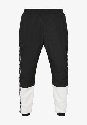 STARTER  - Tracksuit bottoms - black/white