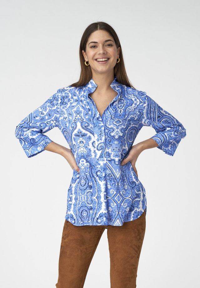 Blus - paisley blue