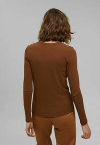 Esprit - LONG SLEEVE - Long sleeved top - toffee - 2