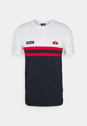 VENIRE TEE - Print T-shirt - white
