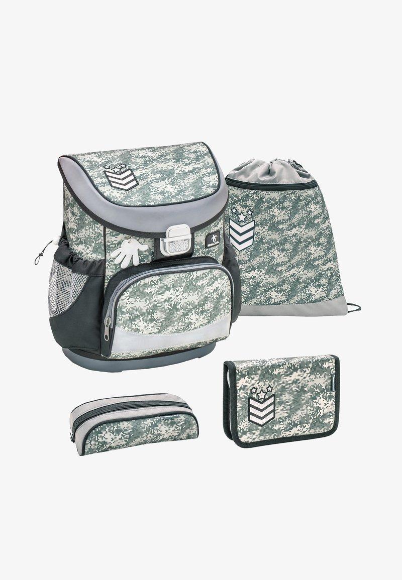 Belmil - SET - School bag - mottled grey