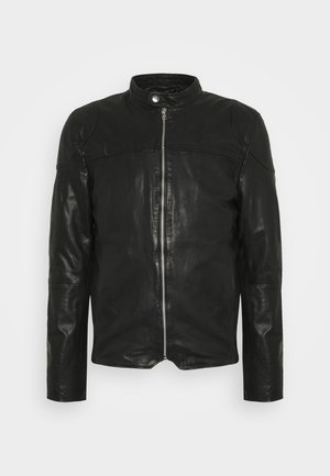 MADRID BIKER - Kožená bunda - black