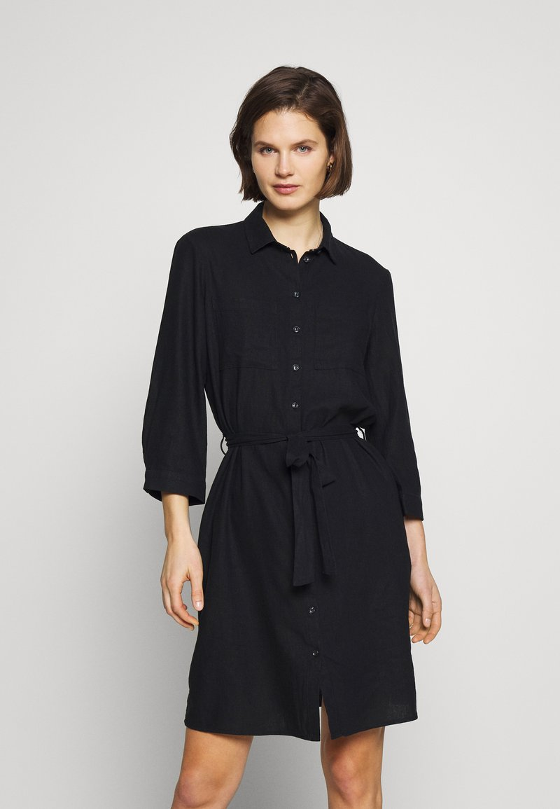 Esprit - Skjortekjole - black