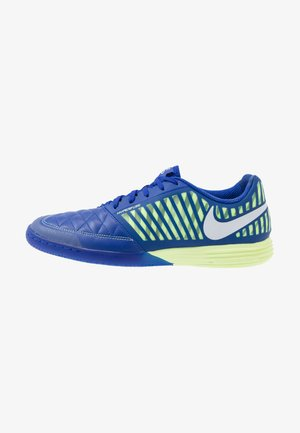 LUNAR GATO II IC - Indoor football boots - hyper blue/white/barely volt