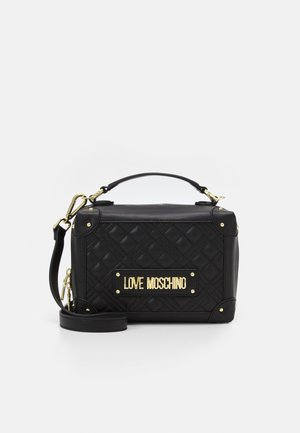 TOP HANDLE CROSS BODY LUNCH BOX - Across body bag - nero