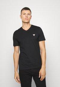 Guess - TEE - T-shirt basic - jet black - 0