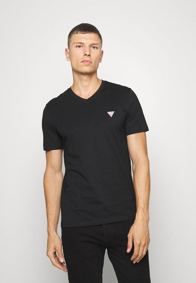 TEE - Jednoduché triko - jet black