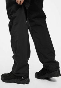 Haglöfs - BUTEO PANT - Outdoor trousers - true black - 2