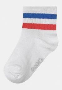 Ewers - RINGEL 4 PACK UNISEX - Socks - gelb/weiß/rose - 1