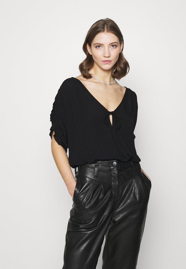 CLEO BODYSUIT - Top - black