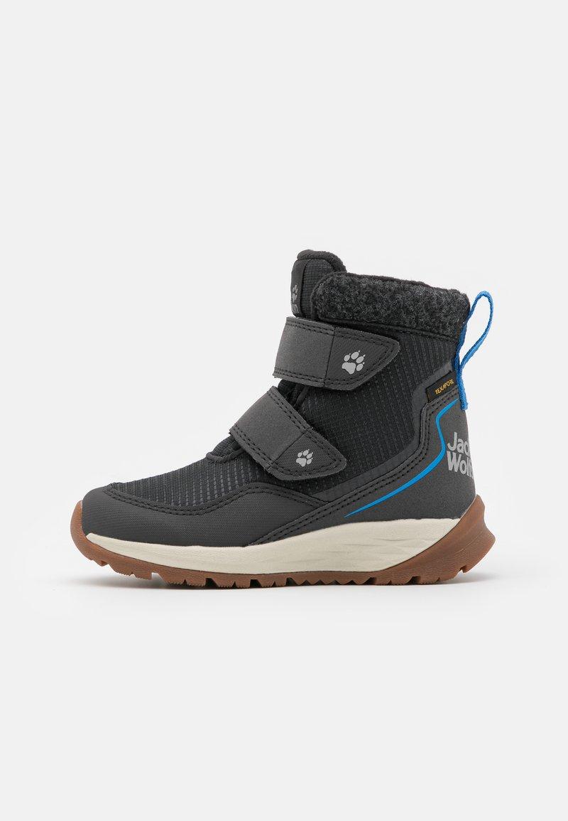 Jack Wolfskin - POLAR BEAR TEXAPORE MID UNISEX - Winter boots - phantom/blue