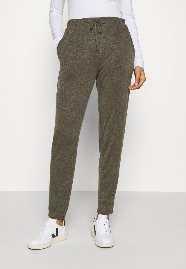 JOGGER - Teplákové kalhoty - dark khaki