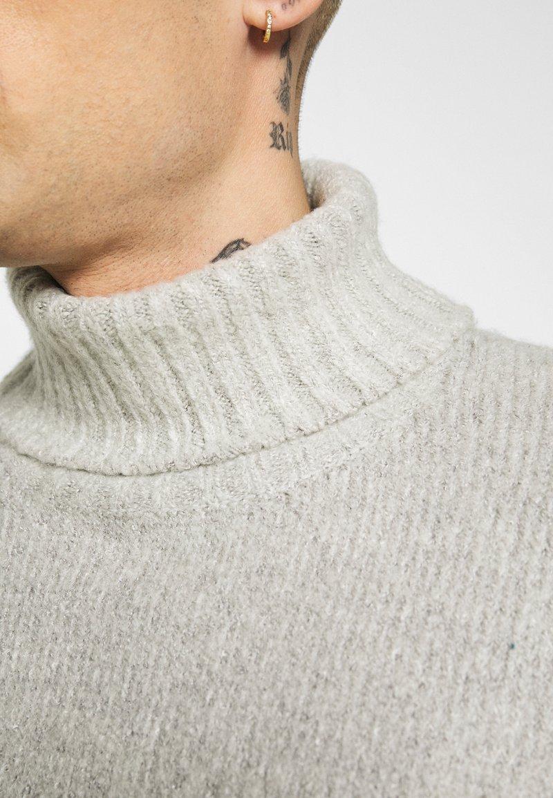 Redefined Rebel Strickpullover - light grey melange/hellgrau Q63rfX